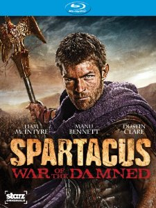 Spartacus War of the Damned Blu-ray