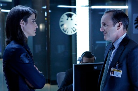 Clark Gregg Colbie Smulders Agents of Shield
