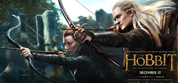 Legolas Tauriel The Hobbit The Desolation of Smaug