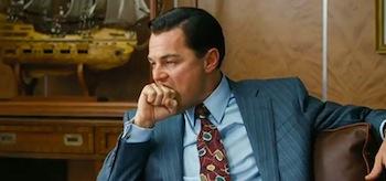 Leonardo DiCaprio The Wolf of Wall Street