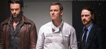 Michael Fassbender James McAvoy Hugh Jackman X-Men Days of Future Past