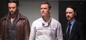 Michael Fassbender James McAvoy Hugh Jackman X-Men Days Of Future Past
