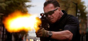 Arnold Schwarzenegger Sabotage