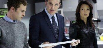 Iain De Caestecker Clark Gregg Ming-na Wen Agents of S.H.I.E.L.D.