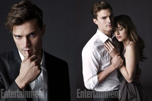 Jamie Dornan Dakota Johnson Entertainment Weekly Fifty Shades Of Grey