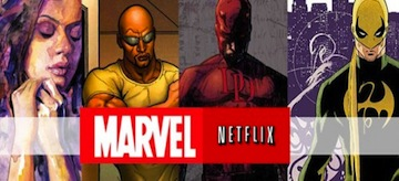 Marvel Netflix Logo The Defenders