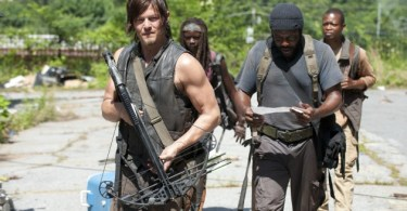 Norman Reedus Chad Coleman The Walking Dead Indifference
