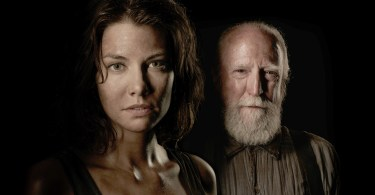 Lauren Cohan Scott Wilson The Walking Dead Season 4