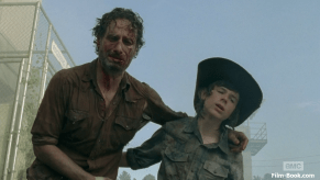 Andrew Lincoln Chandler Riggs The Walking Dead Too Far Gone