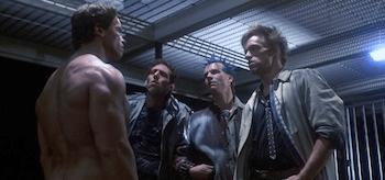 Bill Paxton Arnold Schwarzenegger The Terminator