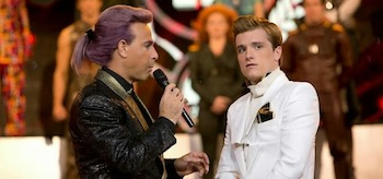 Josh Hutcherson Stanley Tucci The Hunger Games Catching Fire