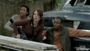 Sonequa Martin-Green Lauren Cohan Lawrence Gilliard Jr The Walking Dead Too Far Gone