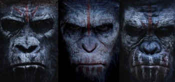 Dawn of the Planet of the Apes Character Posters