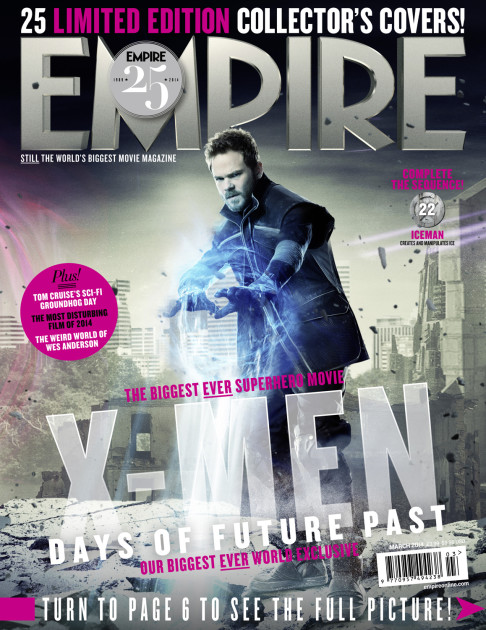 X-Men: Days of Future Past Empire cover 22 Iceman