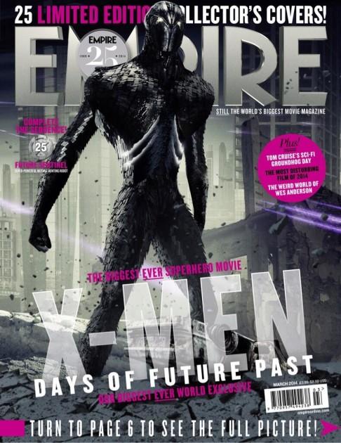 X-Men: Days of Future Past Empire cover 25 Future Sentinel