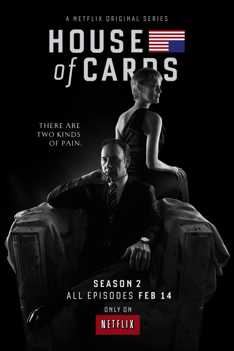 House of Cards Season 2 TV Show Poster