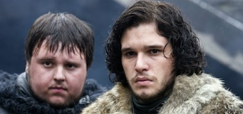 John Bradley Kit Harington Game of Thrones