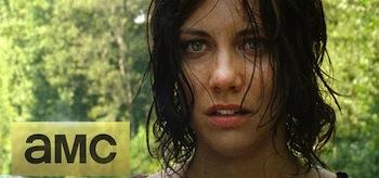 Lauren Cohan Dont Look Bck THe Walking Dead Season 4