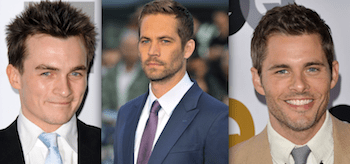 Paul Walker Rupert Friend James Marsden