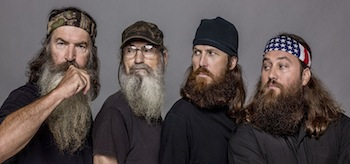 Phil Robertson Willie Robertson Si Robertson Duck Dynasty Season 4