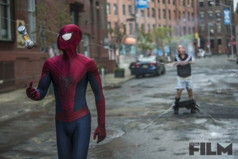 Andrew Garfield Paul Giamatti The Amazing Spider-Man 2