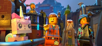 Alison Brie Chris Pratt Morgan Freeman Elizabeth Banks The Lego Movie