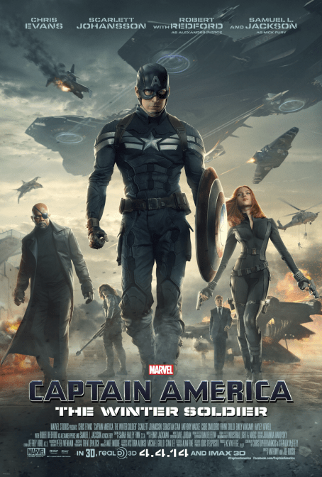 Captain America The Winter Soldier movie poster