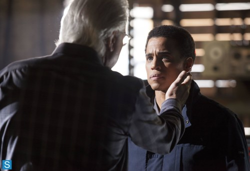 John Larroquette Michael Ealy Almost Human Unbound