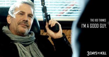 Kevin Costner 3 Days to Kill movie poster