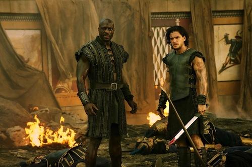 Spartacus sex scence head explodes