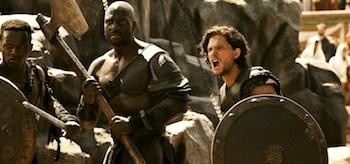 Kit Harington Adewale Akinnuoye-Agbaje Pompeii