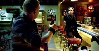 Walton Goggins Michael Rapaport Justified Shot All To Hell