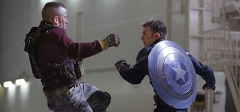 Chris Evans Georges St Pierre Captain America The Winter Soldier