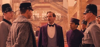 Edward Norton Ralph Fiennes Tony Revolori The Grand Budapest Hotel