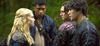 Eliza Taylor Bob Morley The 100 Earth Skills
