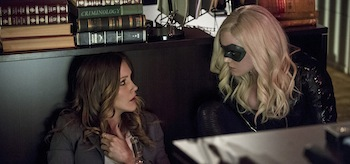 Katie Cassidy Caity Lotz Arrow Birds of Prey