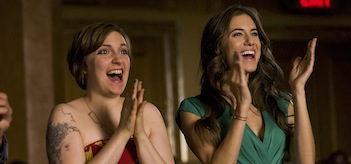 Lena Dunham Allison Williams Girls Two Plane Rides