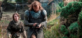 Maisie Williams Rory McCann Game of Show Season 4