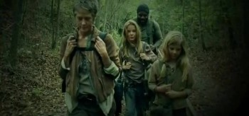 Melissa McBride Brighton Sharbino Chad L. Coleman Kyla Kenedy The Walking Dead The Grove