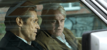 Philip Seymour Hoffman Willem Dafoe A Most Wanted Man