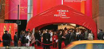 Tribeca Film Festival Entrance