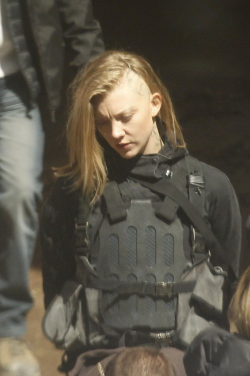 Natalie Dormer The Hunger Games Mockingjay
