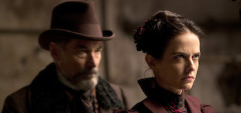 Timothy Dalton Eva Green Penny Dreadful Night Work