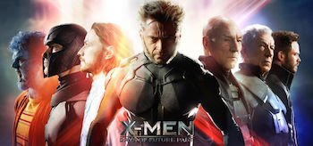 X-Men Days Of Future Past Movie Banner