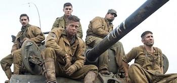 Brad Pitt Shia LaBeouf Logan Lerman Michael Pena Fury