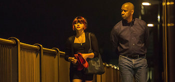 Denzel Washington Chloë Grace Moretz The Equalizer