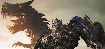 Grimlock Optimus Prime Transformers Age of Extinction