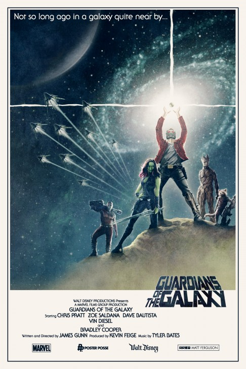Guardians of the Galaxy Matt Ferguson