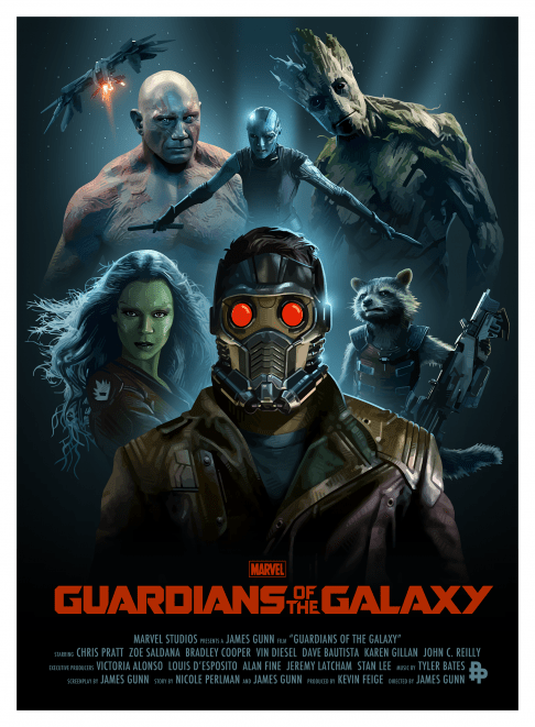 Guardians of the Galaxy CandyKiller