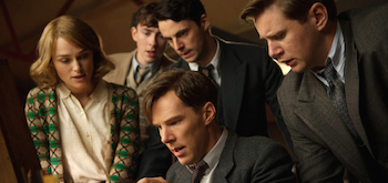 Keira Knightley Matthew Beard Matthew Goode Benedict Cumberbatch Allen Leech The Imitation